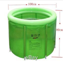 Portable Inflatable Bathtub Bathroom Outdoor Adult Children Wim Hof Ice Bath