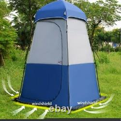 Portable Outdoor Pop Up Tent Camping Shower Toilet Changing Room Privacy Bathtub