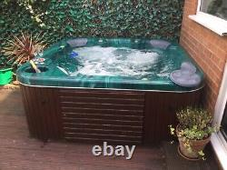 Sappfire hot tub Juccuzi green, 2m/2m /80 cm high