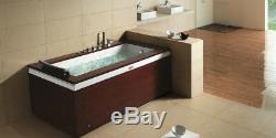 Single Person Hydrotherapy Whirlpool Bathtub Spa Massage Therapy Hot Bath Tub