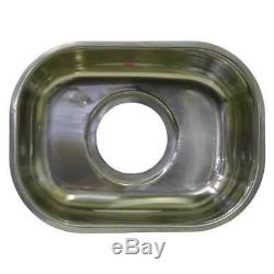 Small Bar Single Bowl Inset Kitchen SINK Stainless Steel Tub CM2 10L 315x240x115