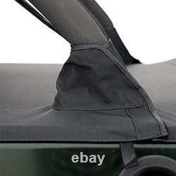 Smittybilt Tonneau Cover Black Diamond For 07-18 Jeep Wrangler JK 4 Door
