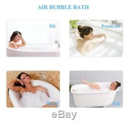Spa Massage Mat Waterproof Bubble Bath Tub w Air Hose Body Relaxing Soothing NEW