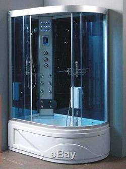 Steam Shower Room, massage Jets. BLUETOOTH. Steam Sauna. Ozone. US Warranty. SALE