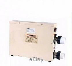 Thermostat Swimming Pool & SPA Home Bath Hot Tub Electric Water Heater 15KW 220V