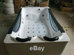 Two Person JETTED BATHTUB, Whirlpool & Air Bubble & Massage, Heater. USA Warranty