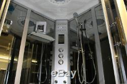Two Person Steam Shower, Aromatherapy, Whirlpool, bubble Jets, Heater, US Warranty