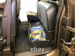 Underseat Storage Box 2007-2013 fits Chevy/GMC Silverado/Sierra Extended Cab
