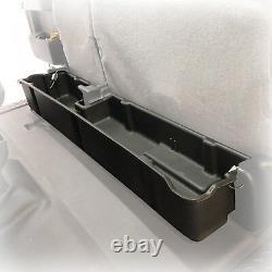 Underseat Storage Box 2009-14 fits Ford F-150 Super Cab Extend Cab Black