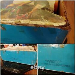 VINTAGE 1977 Playskool Gilligans Island Bath Tub Play Set Complete With Orig Box