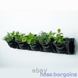 Vertical Garden Kit 25 Pots Green Wall Hanging Planter Box DIY Herb Succulent