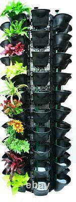 Vertical Garden Kit Wall Hanging Flowers Gardening plants herbs pots planters x4