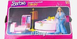Vintage 1979 Barbie Dream Furniture Luxury Bathtub withBox & 1966 Barbie