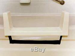 Walk-In Bath Tub to Shower Step Through Insert DIY Conversion Kit Senior Safety