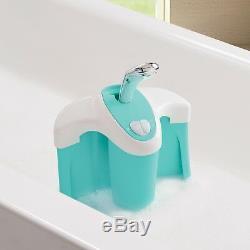 Whirlpool BubBling Spa & Shower Infant Baby Toddler Wash Shower Bath Tub Blue