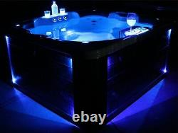 Whirlpool Whirlpools Hot Tub 3-4 P. Outdoor / Indoor NEU W-180S NEW KING-SPA